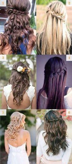 6 tipos de peinados para navidad - http://www.peinando.com/6-tipos-de-peinados-para-navidad/