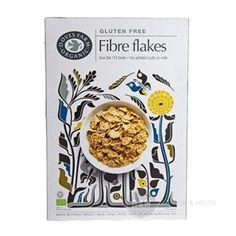 Fibre Flakes Doves glutenfri 300 g økologisk