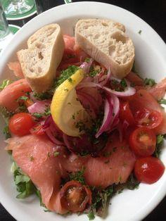 Salade: zalm & tonijn @HappyItaly
