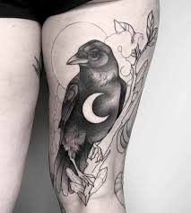Bird Tattoos For Women, Little Bird Tattoos, Crow Tattoo Meaning, Tattoos With Meaning, Geometric Tattoo Bird, Crane Tattoo, Peacock Tattoo, Swallow Tattoo, Three Little Birds