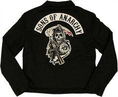Sons of Anarchy Womens Mechanics Jacket