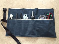 Homemade tool roll for operation Christmas child boxes 10-14 boys