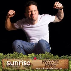 #kraantjePappie will extend your #happiness with his urban beats! #sunrise #festival