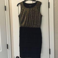 Dress Black and gold ENFocus Studio Dresses