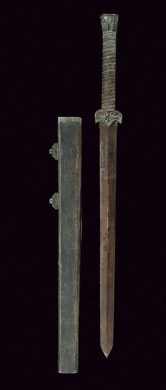 Jian Sword. Dated: 20th century. Culture: Chinese. | Copyright 2014 © Czerny's International Auction House S.R.L.