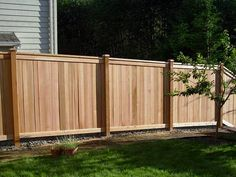 6 Tongue And Groove Fence With Lattice Top On Stone Wall