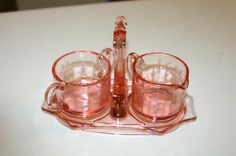 Miss America Clear Depression Glass Disney Collectibles, Coca Cola, Miss America, Price Guide, Depression, Candle Holders, Candles, Antiques, Glass