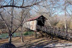 Alabama, Talladega County, Kymulga Covered Bridge