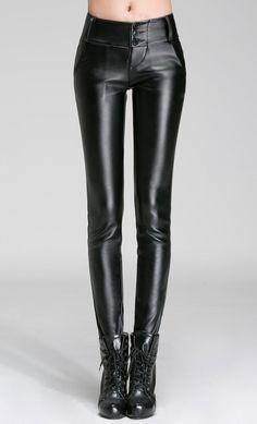 7c944bec40fdf TB2mYWyeXXXXXaYXpXXXXXXXXXX-862841880 Trousers Women, Pants For Women,  Clothes For Women, Faux Leather