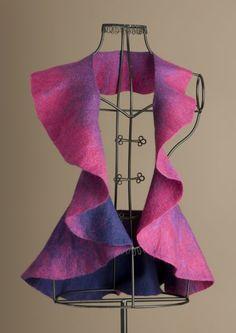 ArtWear - O wrap, reversible Australian Merino Wool