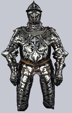 Three-quarter armor for a nobleman, made in Innsbruck, c.1550