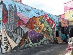 5Pointz Mural with Godzilla