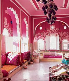 Déco indienne salon