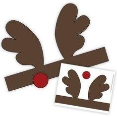 Printable Reindeer Antler Headband - have to register at the site in order to download.