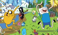 The magic of Adventure time