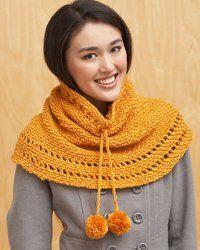Pumpkin Spice Cowl