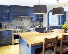 kuchnie niebieskie