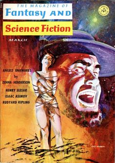 Gray Morrow cover to The Magazine of Fantasy and Science Fiction