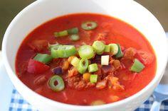 Linsesuppe med chorizo og paprika