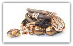CASA Pari ® NAPPA Leder Armband ★ HAZEL ★ von CASA Pari® auf DaWanda.com