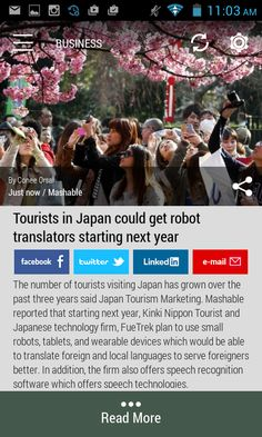 #japan #tourism #robots  Download the FREE Born2Invest Android app to get the full scoop and many more business news summaries.