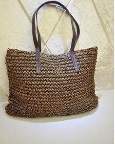 8f45147fbb YOGODLNS Beach Straw Shoulder Bag