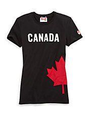 Sochi 2014 Canadian Maple Leaf Tee