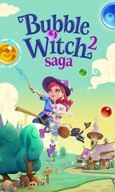 Bubble Witch 2 Saga v1.56.3 [Mods] Apk Mod  Data http://www.faridgames.tk/2016/10/bubble-witch-2-saga-v1563-mods-apk-mod.html