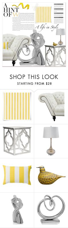 """Inspired By Wallpaper #4"" by orietta-rose on Polyvore featuring interior, interiors, interior design, home, home decor, interior decorating, Christian Lacroix, Safavieh, SPIRA and iittala"