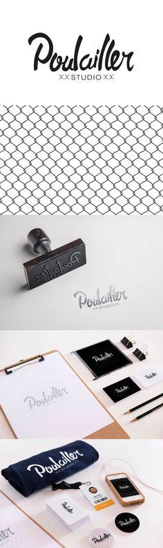 Poulailler - Logotipo para estudio de grabación