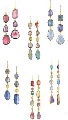 Earrings by the Margery Hirschey