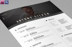 Resume + Cover letter by sz81 on Creative Market