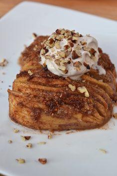 Hasselback Baked Apples #justeatrealfood #everylastbite