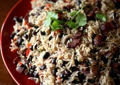 What can I say about this? It's an easy, straightforward version of rice & beans. It's supposed to be authentic Costa Rican.