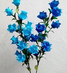 Paper Flowers - Campanula. Canterbury Bells. Bell Flower