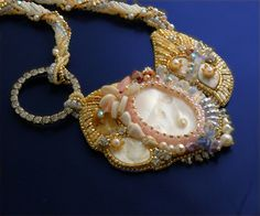 La Mer Necklace   Ocean Romance Necklace Pearl by LuxVivensFashion, $245.00