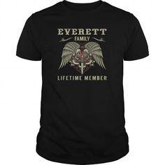 Cool  shirt EVERETTS Family - Lifetime Member-front T-Shirts