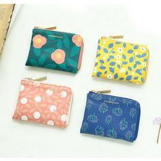 Livework Promenade half zip around card wallet by Livework. The Promenade card case wallet is produced in a compact size that fits in the hand. Coin Purse Wallet, Card Wallet, Card Case, Coin Purses, School Accessories, Diy Purse, Wallet Pattern, Travel Cosmetic Bags, Baby Store