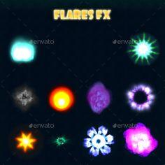 Flare FX - Sprites #Game Assets