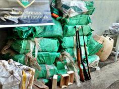 FENAPEF - PF acha 500 kg de cocaína em mata e prende 7 pessoas em fazenda de MT