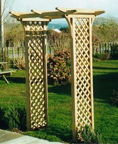Cape cod chairs | Garden gates | Loveseats | Gazebos Shipped to your door Arches - The Trellis Centre