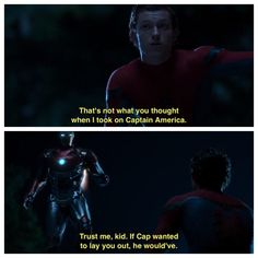 My favorite line from Spider-Man: Homecoming