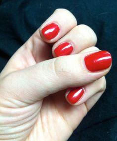 Trendy Nail Wraps: Awesome Red Fiberglass Nail Wraps ~ fixstik.com Nail Designs Inspiration