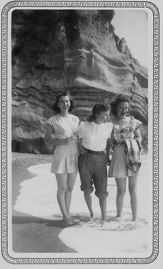 Martha, Alice and Virginia, 1947.