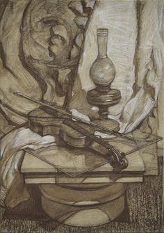 Картинки по запросу натюрморт рисунок штиглица