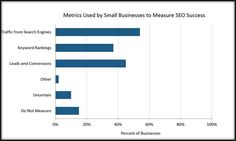 Small & Medium Sized Businesses (SMB) : Traffic from search engines is the number one metric used by small businesses to measure SEO success, as per the Clutch report.