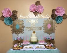 Prince or Princess Gender Reveal Party Ideas | Photo 3 of 8 | Catch My Party