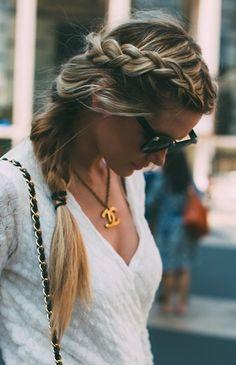 perfect side braid