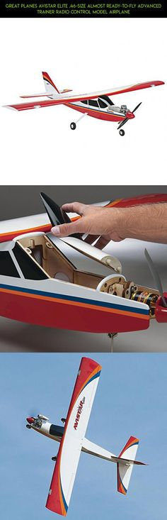 Great Planes Avistar Elite .46-Size Almost Ready-to-Fly Advanced Trainer Radio Control Model Airplane #plans #drone #racing #ready #technology #fly #kit #parts #shopping #great #camera #to #fpv #tech #gadgets #planes #products