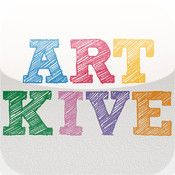 Artkive app - keep & share photos of kids' artwork, organize by date, etc. - FREE right now